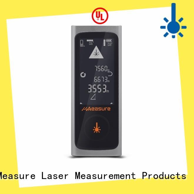 UMeasure eye-safe laser distance measuring tool distance for measuring