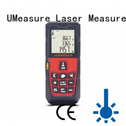 UMeasure long laser distance measurer backlit for sale