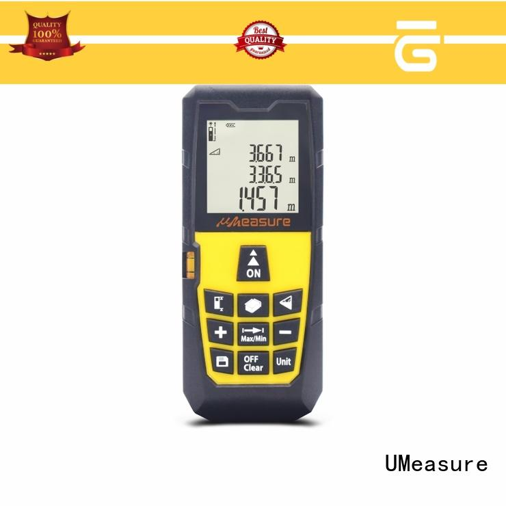 UMeasure multimode digital laser measuring device accuracy measuring