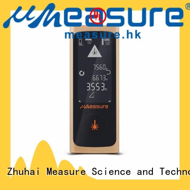 handhold high accuracy laser distance measurement backlit for sale UMeasure
