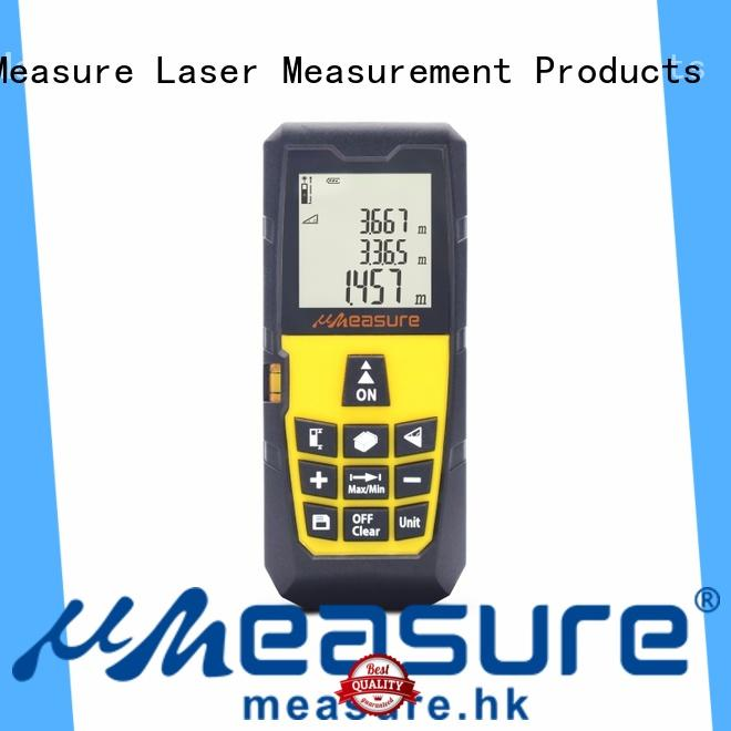UMeasure device digital measuring tape display for worker