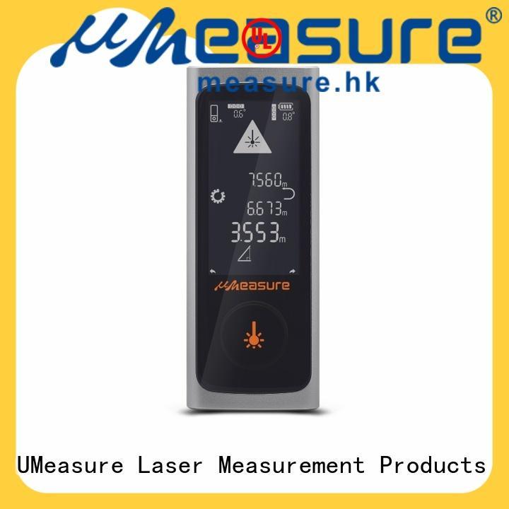 electronic laser distance handhold for worker
