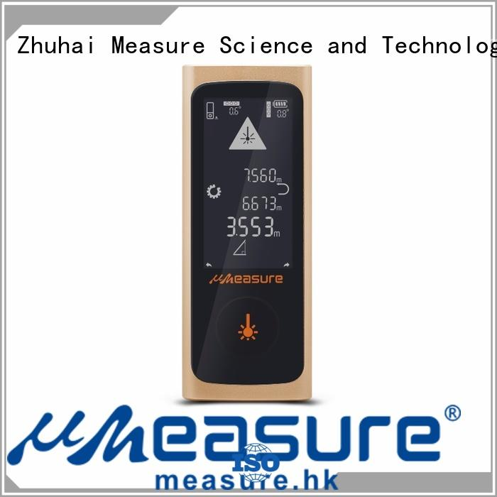 UMeasure device laser measure tape distance for worker