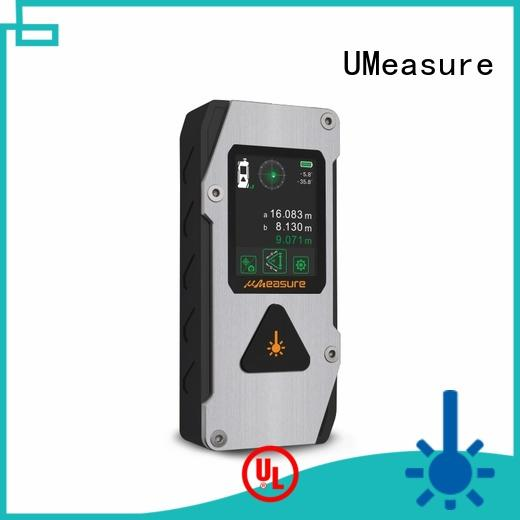 UMeasure accurate curve laser distance meter price display for sale