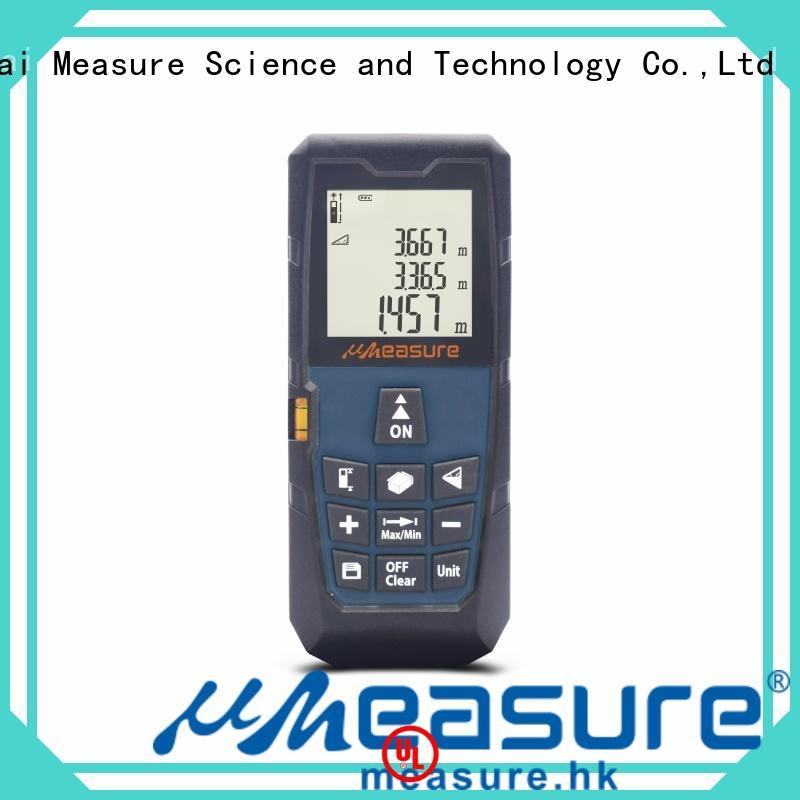 UMeasure track laser distance meter handhold for measuring