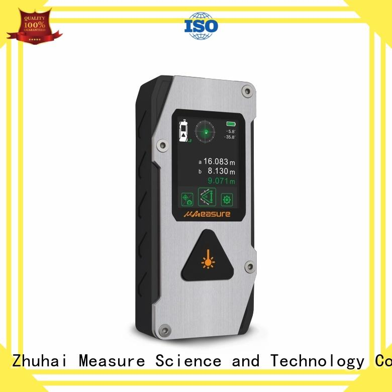 UMeasure far best laser distance measurer bluetooth for worker