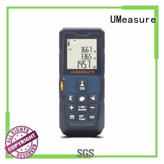 handheld laser distance measurer image UMeasure company