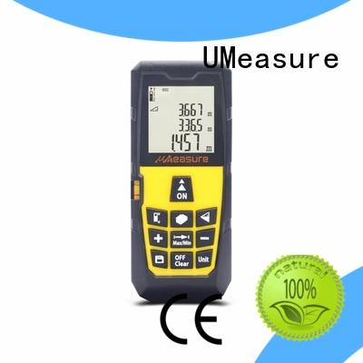 UMeasure durable best laser distance meter handhold for wholesale