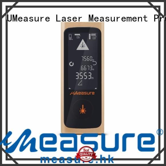 UMeasure multimode digital measuring device handhold for worker
