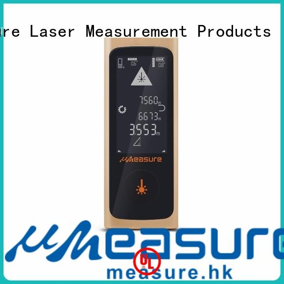 UMeasure household laser measure tape handhold for wholesale