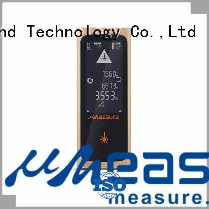 high precision laser measure reviews display for worker UMeasure