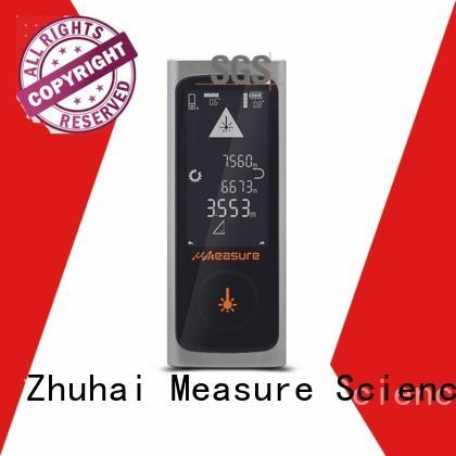 UMeasure device distance meter laser backlit for worker