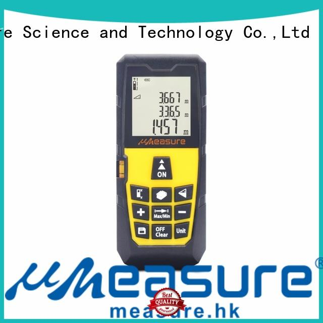 UMeasure multifunction laser measuring tool display