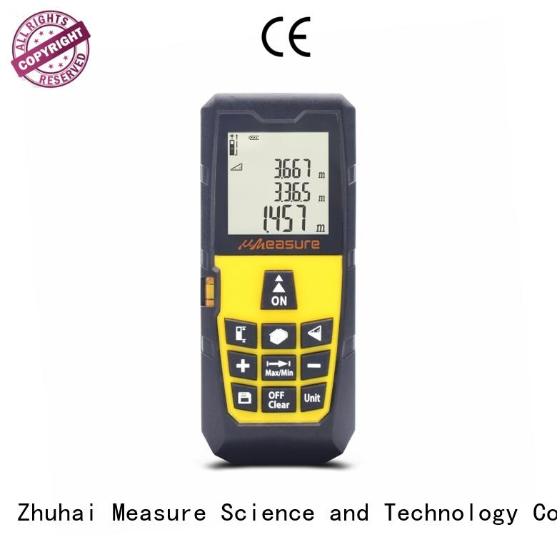 handheld laser distance multi-function display for measuring