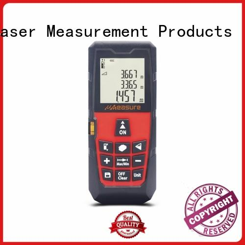 UMeasure tools laser distance measurer display for measuring