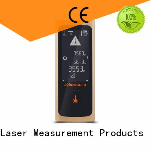 UMeasure carrying laser measuring devices distance for