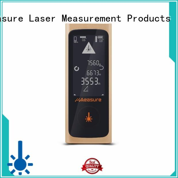 UMeasure Brand screen track custom laser range meter