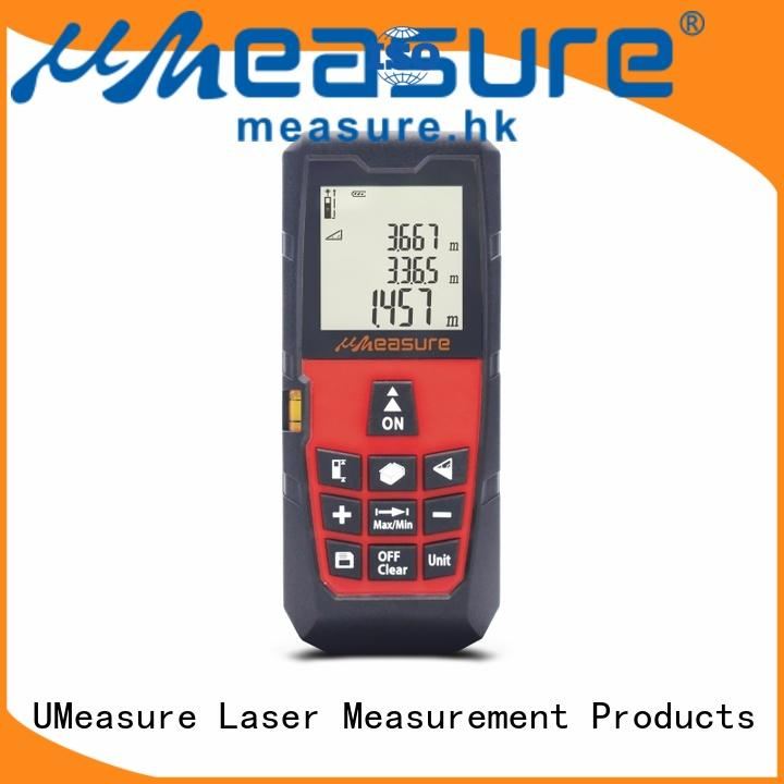 UMeasure multi-function laser measuring devices backlit for wholesale