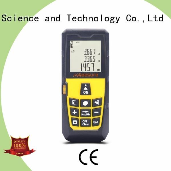 handheld mastergrip laser distance meter distance for worker UMeasure