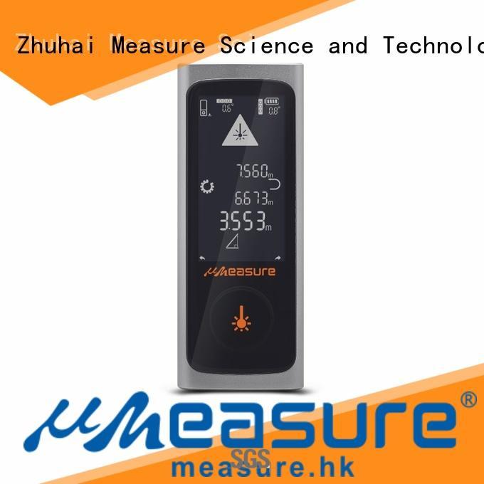 UMeasure bubble laser measurment backlit for worker
