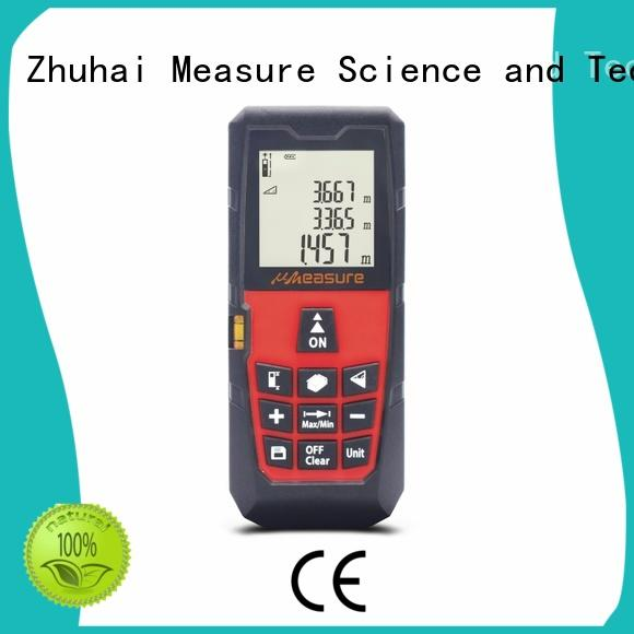 multifunction laser distance measuring tool far display for worker