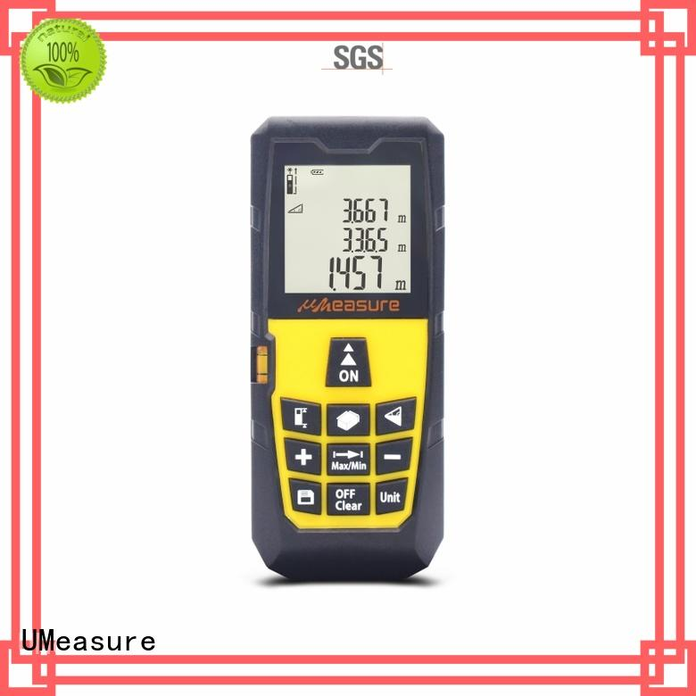UMeasure long laser distance meter backlit for sale