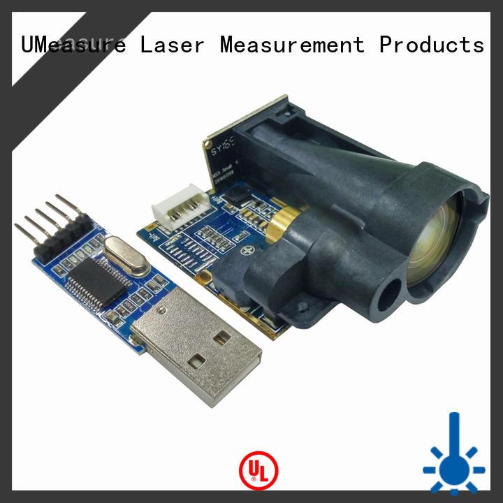 UMeasure free sample distance measuring sensor interior measuring room measuring