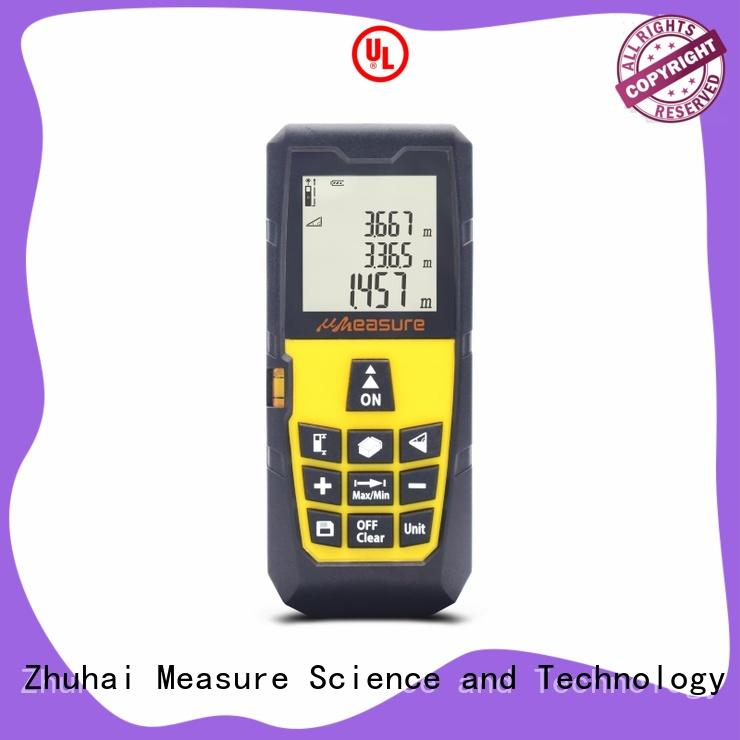 UMeasure electronic best laser measuring tool backlit for measuring