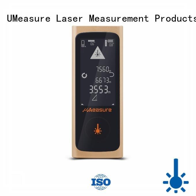 UMeasure basic ranging laser distance measuring tool display for worker