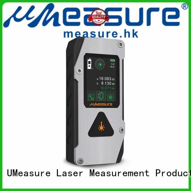 UMeasure pouch laser distance measuring device backlit for worker