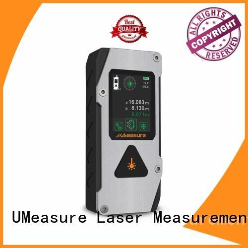 UMeasure cross laser distance measuring tool backlit for measuring