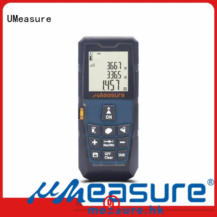 UMeasure lcd digital distance measuring instruments backlit for sale