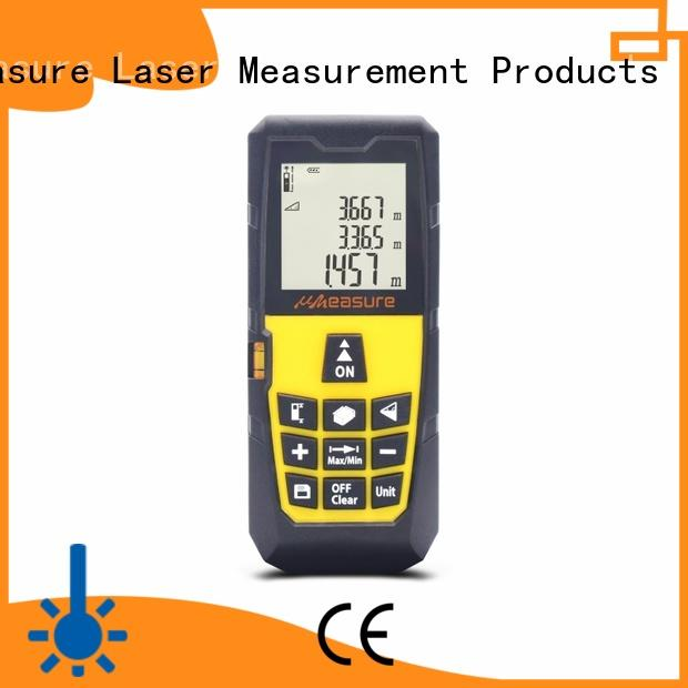 UMeasure rangefinder laser distance meter backlit for measuring