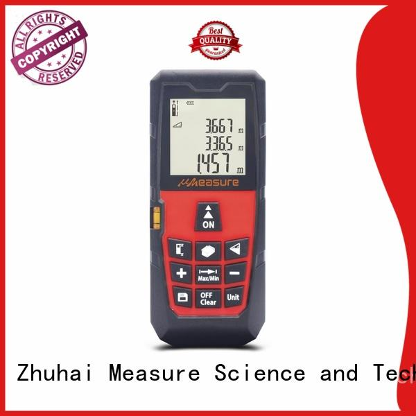 Pocket Laser Distance Meter, uMeasure 60M Measuring Tape 196ft with Carrying Pouch and Strap Clear LCD Display for Area, Volume Calculation, Pythagorean Mode Handhold Distance Measurer