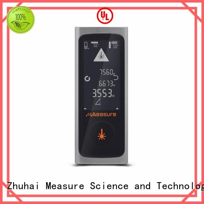 multimode distance meter laser carrying backlit for measuring