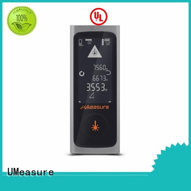 UMeasure carrying laser distance measurer 100m angle for wholesale
