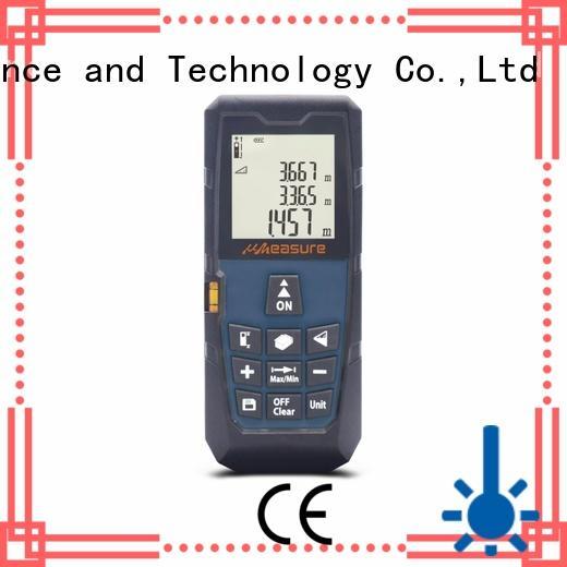 UMeasure track laser measuring tool distance for worker