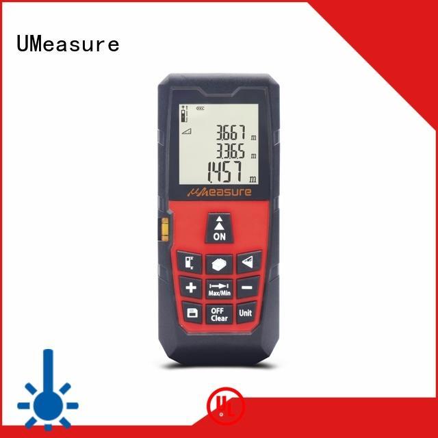 UMeasure long laser measuring tool handhold for worker