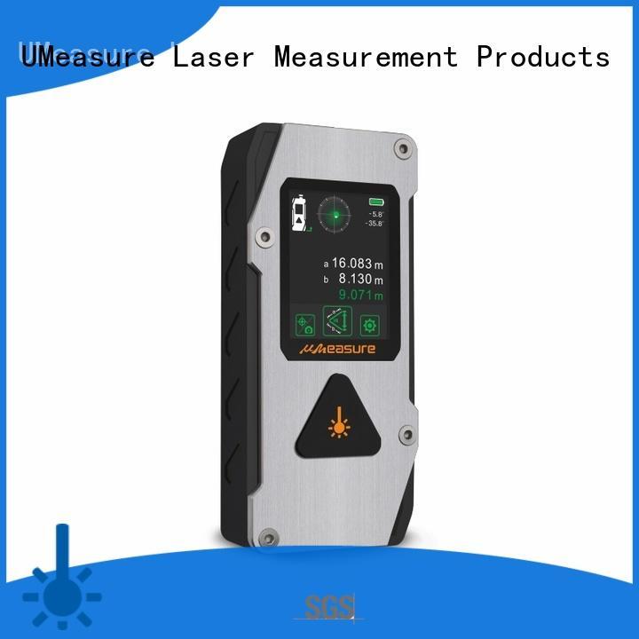 UMeasure durable laser distance measurer display for measuring