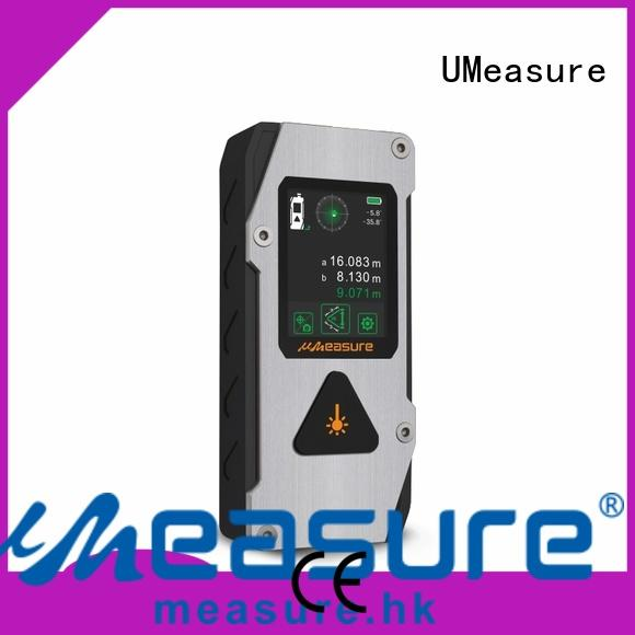 UMeasure track best laser distance measurer bluetooth measuring