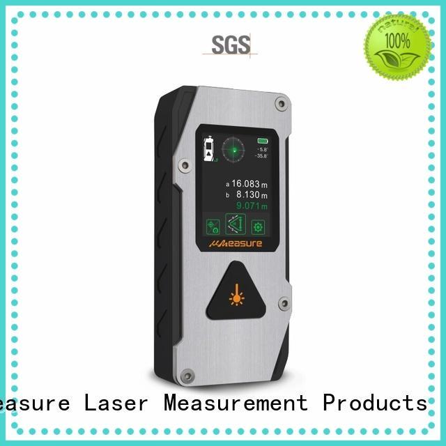 UMeasure lcd laser distance meter price backlit measuring