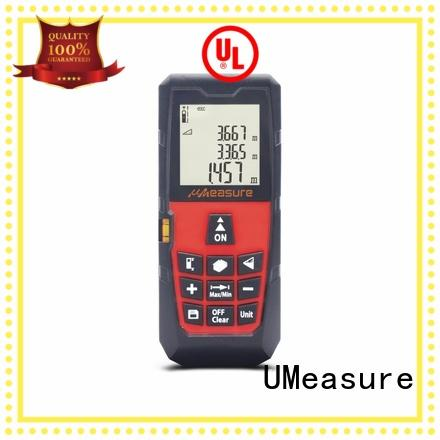 UMeasure durable laser distance measurer reviews one button for measuring