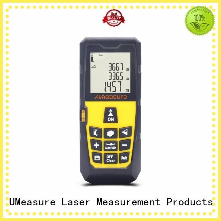 laser level and distance measure backlit for measuring UMeasure