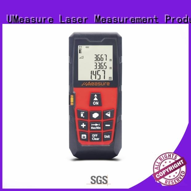 UMeasure household laser distance measurer display for worker