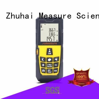 UMeasure laser distance measuring tool display for measuring