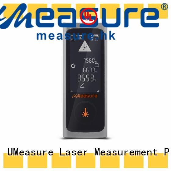 high precision distance measuring equipment laser backlit for worker UMeasure