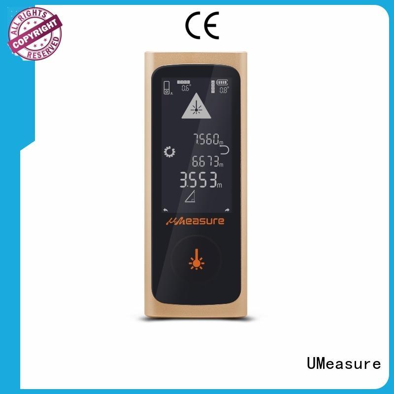 backlit display laser distance measurer image mini UMeasure company