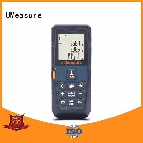UMeasure lase laser distance meter backlit for worker