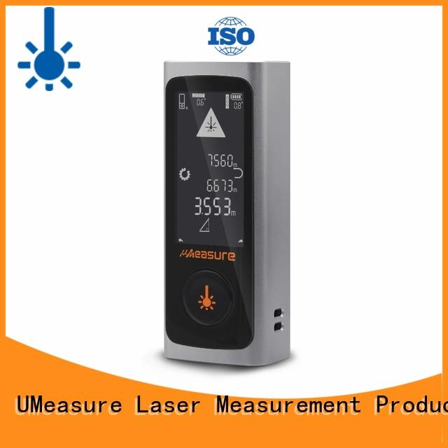 UMeasure handheld laser distance measurer display for wholesale