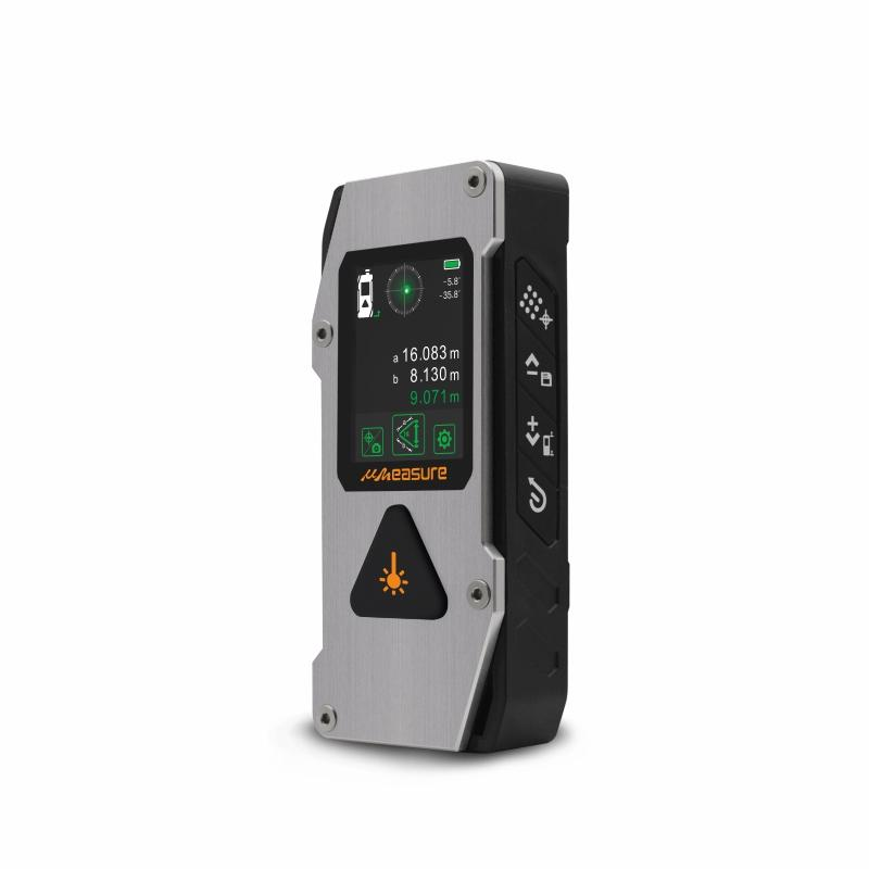 Smart digital IP67 laser distance meter measuring tool laser level combined with laser cross line